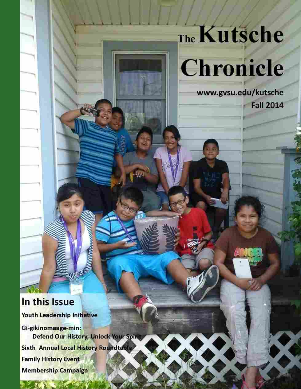 Fall 2014 Kutsche Chronicle